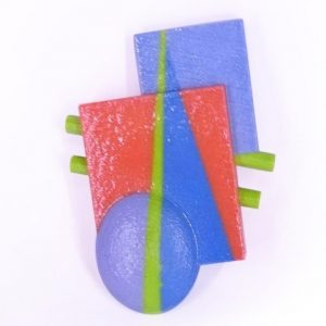 You're Not So Square brooch,