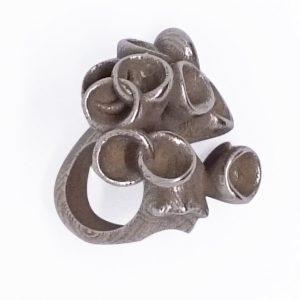 Bud ring in steel